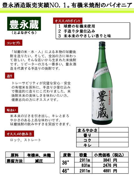 豊永酒造(熊本)